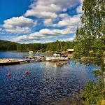 Lake Saimaa view from Sahanlahti