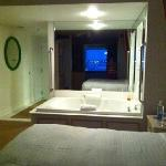 Great, Large Jacuzzi Tub in Room