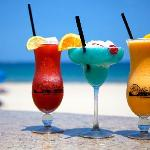 Oceanside dining, specialty drinks, entertainment and good times at the Patio Bar and Grill