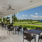 Famous for local cuisine and Golfers- Garden Terrace overlook the lush green two 18 holes Golf C