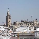 Seville from the rooftop solarium