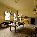 The kitchen at Fota House