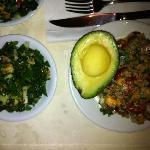 delicious organic food
