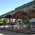 Market in Mirepoix