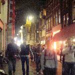 Crowds on Warmoesstraat