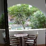 La veranda della nostra camera
