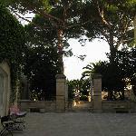 Cortile di Palazzo Guglielmo