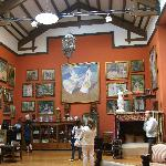 Sorolla's painting room