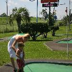 Have a challenging round of putt-putt golf at the hotel's onsite miniature golf course.