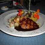 Dinner; wonderful presentation & flavors