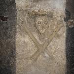 particolare della cripta