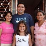 La familia - Claribel, Ridel, Laura, Maria