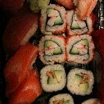 old town sushi combo