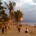 Enjoy a delightful evening stroll along the Malecon