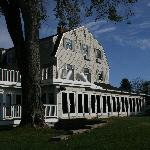Back of the Breakwater Inn-main building & restaurant
