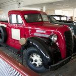 Classic vehicles on board the Eureka