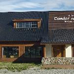 """EL frente del Albergue-Hostel """"Cóndor de los Andes"""""""""""