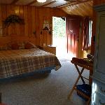 Inside cabin again