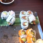 Assorted Rolls: BC,California, Smoked Salmon