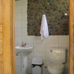 Bathrooms at Madidi Jungle Ecolodge & Madidi National Park