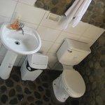Bathrooms at Madidi Jungle Ecolodge