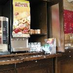 Breakfast corner
