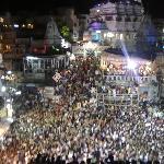janamshtmi festival from hotel baba palace udaipur