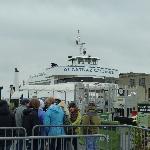 アルカトラズ島へ行く船