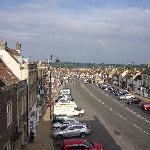 Chipping Sodbury high street from front bedroom