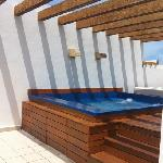 Our roof top terrace
