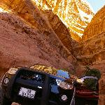 The nice jeep for the trips with wadi rum full moon tours