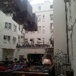 Reception och bar/lounge