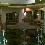 The lobby at 2.30am
