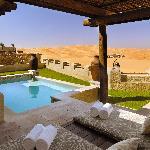 Qasr Al Sarab Desert Resort by Anantara - Morning outlook from Private pool
