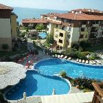Hotel complex and main pool