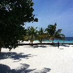 Strand bei der Reception