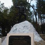 Tenjing Norgay statue at HMI