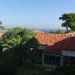 Blick vom Balkon (Parkseite)