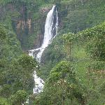 Fantastic waterfalls during the trip with Suresh