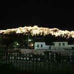 Acropolis de noche