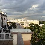 Museo Ruso desde balc{on de la habitaci{on