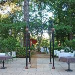 restaurant dans le parc