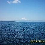 el lago con el volcan de fondo....hermoso!!!