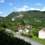 view towards Switzerland