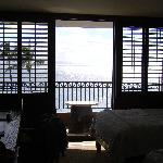 Balcone camera Ocean front view