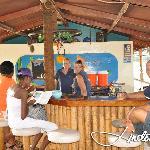 At the cozy Bar