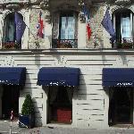Entrance to Hotel Grimaldi