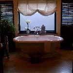 Beautiful bathroom in the Luxury Suite