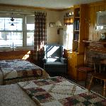 Captain's Fireplace Room