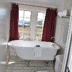 Clawfoot tub; remodeled bathroom